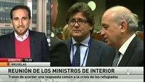 Los ministros de Interior de la UE se reúnen para dar una solución al problema de los refugiados