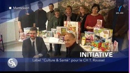 Labellisation Culture et Santé - Reportage Yvelines Premiere 24/02/16