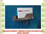 Capventure Cabanaz - Colgador de llaves con espacio para cartas color gris