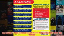 Download PDF  JK Lassers Your Income Tax 2016 For Preparing Your 2015 Tax Return FULL FREE