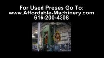 50 Ton Used Bliss Presses For Sale Dealer Serving Montana Stampers