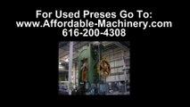 50 Ton Used Bliss Presses For Sale Dealer Serving Utah Stampers