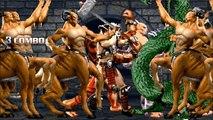 MOGEN WORLD,Motaro Sangriento vs Kintaro and Goro (mortal kombat)