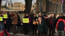 """""""Verità per Giulio Regeni"""", sit-in all'ambasciata d'Egitto a Roma"""