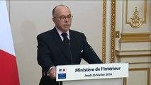 """""""Jungle"""" de Calais : """"Il n'a jamais été question de procéder à l'évacuation brutale"""", assure Bernard Cazeneuve"""