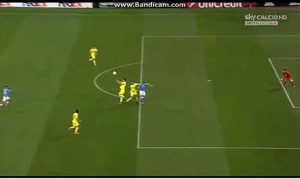 Super GOAL 1-0  -HAMSIK -  Napoli v Villareal