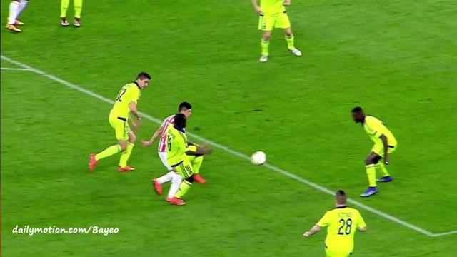 Konstantinos Fortounis Goal HD - Olympiakos Piraeus 1-0 Anderlecht - 25-02-2016