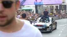 How do we film at Outdoor events like Gumball Rally 3000?
