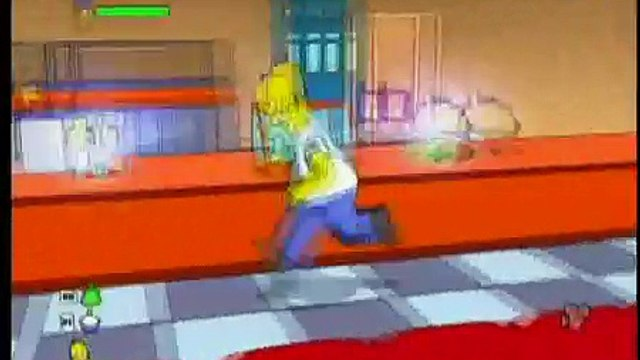 The Simpsons Game - Springfield - Homers Duff Caps Pt 1