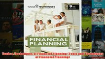 Download PDF  Tools  Techniques of Financial Planning Tools and Techniques of Financial Planning FULL FREE