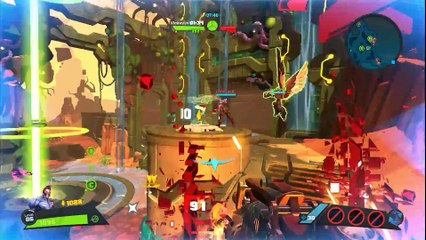 New multiplayer gameplay with Whiskey Foxtrot and Toby de Battleborn