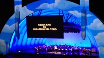 The Simpsons couch gag intro at Hollywood Bowl - The Simpsons Take the Bowl