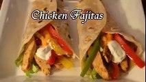 Chicken Fajita - Homemade chicken Fajitas Recipe