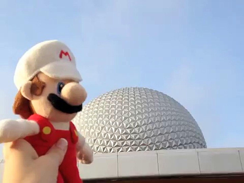 Fireball Mario & Luigi Go to Epcot to ride Soarin