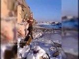 Аэропорт Донецк: Ополченцы ДНР обстреливают новый терминал / Airport Donetsk