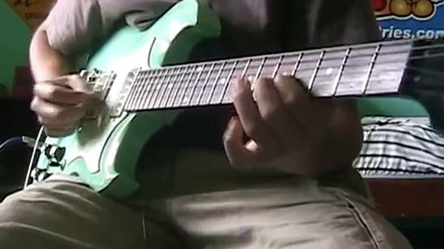 The Simpsons Theme on Guitar (from The Simpsons Movie)