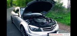 BMW M5 F10 vs Mercedes C63 AMG SOUND BATTLE 6,2l V8 vs 4,4 Biturbo Exhaust REVS revving