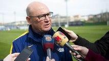 FCB Femenino: Xavi Llorens y Alexia Putellas quieren un Mini Estadi lleno