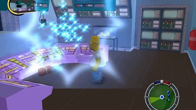 The Simpsons: Hit & Run (100% Walkthrough) - [L1M4] Blind Big Brother