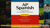 Download PDF  AP Spanish Preparing for the Language Examination 3rd Edition Student Edition FULL FREE