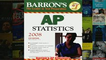 Download PDF  Barrons AP Statistics FULL FREE