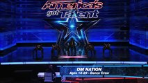 DM Nation- See Female Hip-Hop Dance Crew's Cool Moves - America's Got Talent 2015