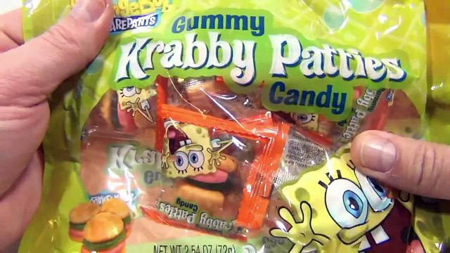 SpongeBob SquarePants Gummy Krabby Patties Candy