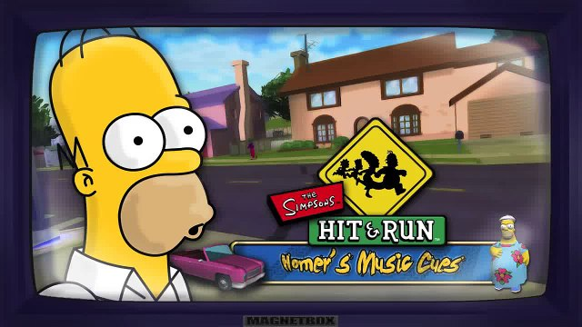 The Simpsons Hit & Run Soundtrack - Homers Music Cues