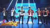 "It's Showtime: Hashtags danced to ""Take Your Shirt Off"""
