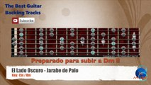 El Lado Oscuro - Jarabe de Palo Guitar Backing Track with scale chart