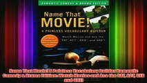 Read book] Name That Movie! A Painless Vocabulary Builder