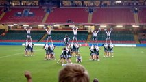 Swansea Sirens at the Millennium Stadium for Varsity 2012
