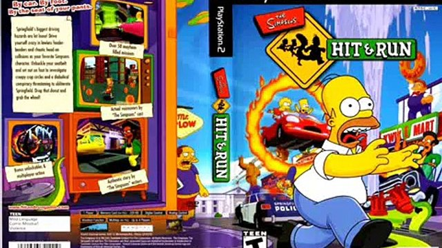The Simpsons Hit & Run Soundtrack Blind Big Brother