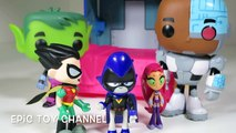 TEEN TITANS GO! Parody Raven Curses Beast Boy & Cyborg w/ Ancient Curse at Teen Titans Go! T-Tower