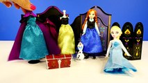 FROZEN Official Disney Store Dolls Elsa and Anna Wardrobe Playset Furniture Outfits Shoes Clothing