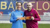 FCB Femení: Andrés Iniesta & Marta Unzué prèvia FC Barcelona-Athletic Club.