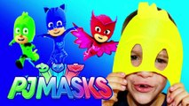 PJ MASKS Disney DIY PJ Masks with Blaze and Paw Patrol Video Adventure KIDS Superhero Mask Toy