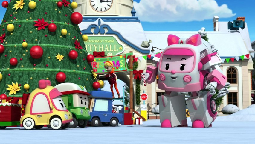 Robocar Poli fête Noël en chanson - Jingle Bells ♫
