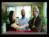 Can Dündar ve Erdem Gül konuşurken İMC Tv'nin yayınını kestiler