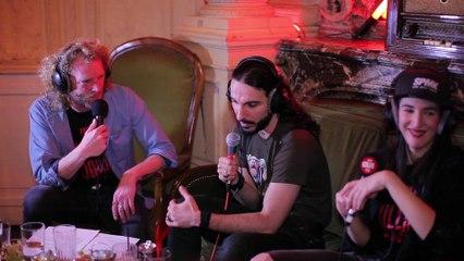 Dédo au micro des Airnadette dans Démesurément Culte sur OÜI FM !