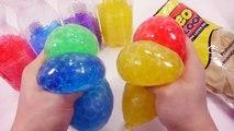How To Make Colors Orbeez Stress Ball Water Ball Magic Growing 개구리알 물컹이는 풍선 만들기 워터볼 팜팜