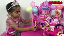 Barbie Life In The Dreamhouse Toys Videos – New 2015 English Episode 2: Chelseas Birthday Party!