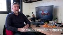 Vincennes a du talent avec Jeff Ropars photographe et caméraman de haut vol.
