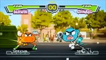 The Amazing World of Gumball - Gumball vs Darwin - Super Street Fighter Fight