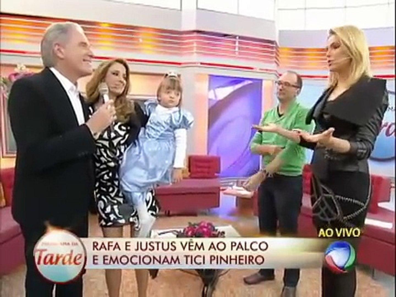 Separada, Ticiane Pinheiro chora ao ouvir declaração de Roberto Justus