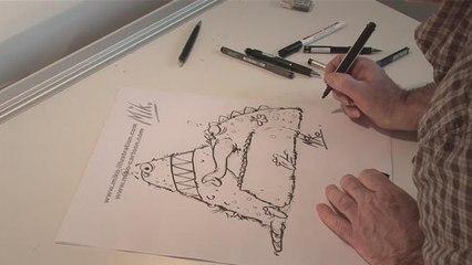 How To Design A Cartoon Monster
