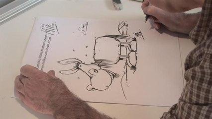 How To Design A Cartoon Donkey