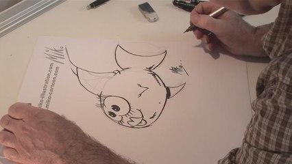 How To Create A Cartoon Fish