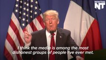 Trump Actually Seriously Suggests Suing Newspapers Who Are Negative Against Him