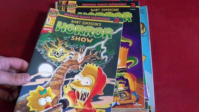 Bart Simpsons HORROR Show (Vorstellung   Unboxing   Simpsons)